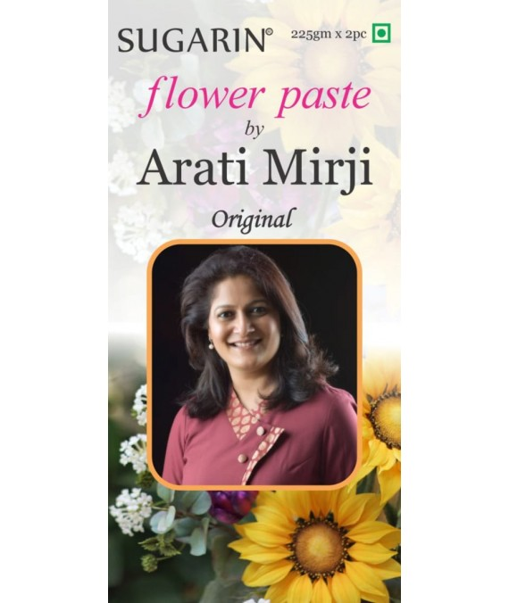 Flower Paste by Arati Mirji, Original Color, 450gm