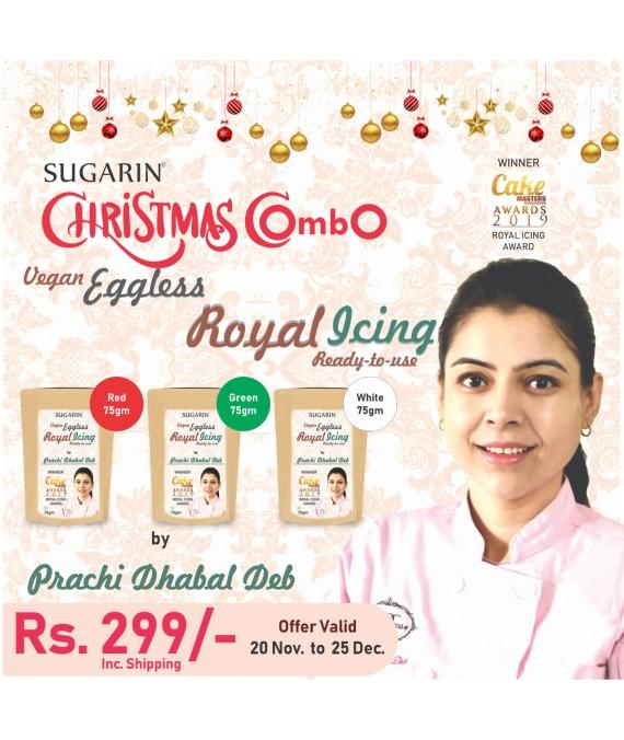 Christmas Offer Vegan Eggless Royal Icing