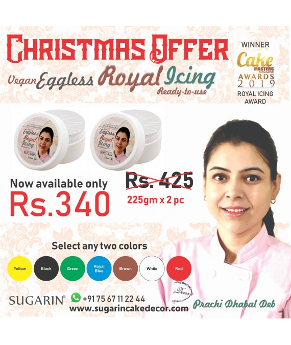 Christmas Offer Vegan Eggless Royal Icing 2